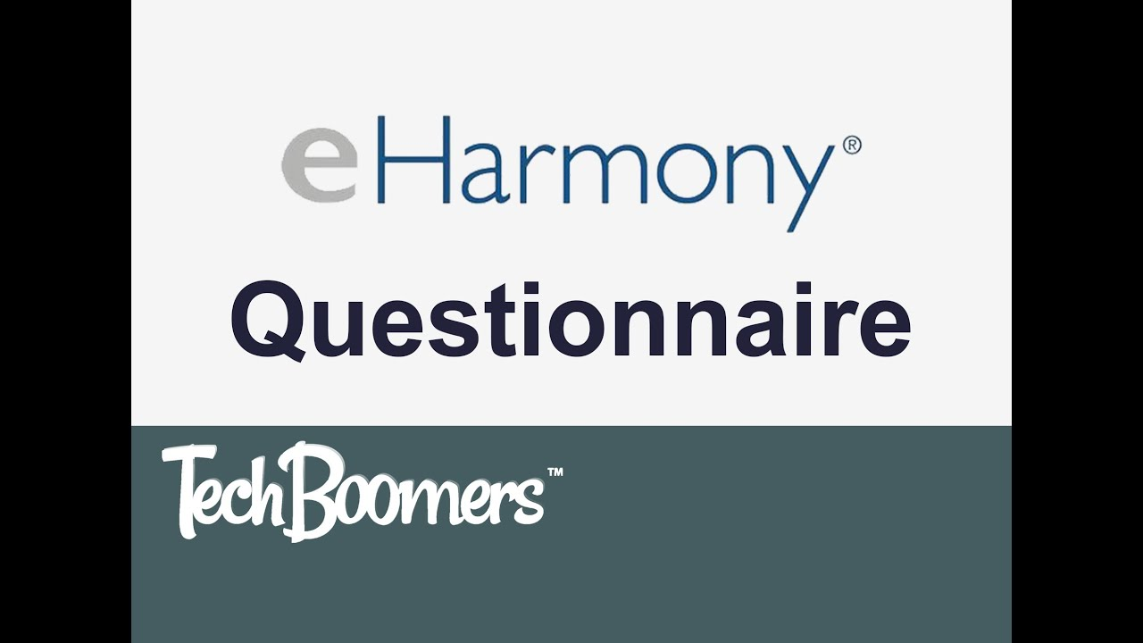 Eharmony questionnaire pdf