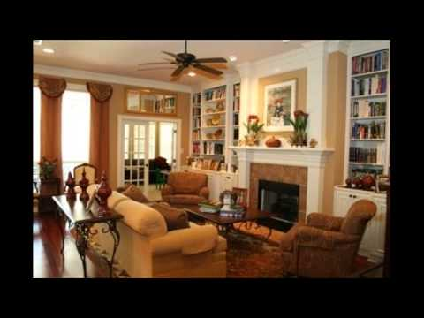 houzz living room furniture arrangement - YouTube
