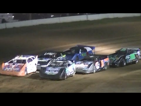 ULMS Super Late Model Heat Two | McKean County Raceway | Fall Classic | 10.10.14