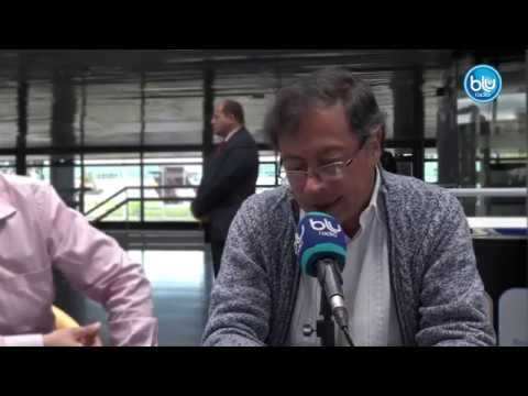 Entrevista de Gustavo Petro para El Radar   Blu Radio