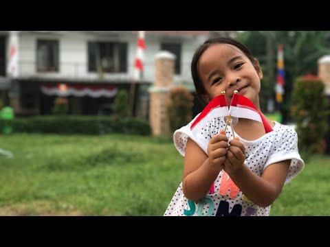 Zara News #9   Hari Kemerdekaan   Aku Bangga Jadi Anak Indonesia - bersama Lana di Amerika