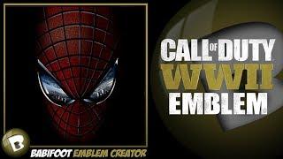 COD WW2 Emblem Tutorial - Spider-Man