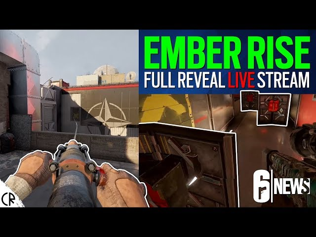 Full Reveal Live! New Ops Goyo & Amaru - Canal Rework - Ember Rise - 6News Live - Rainbow Six Siege