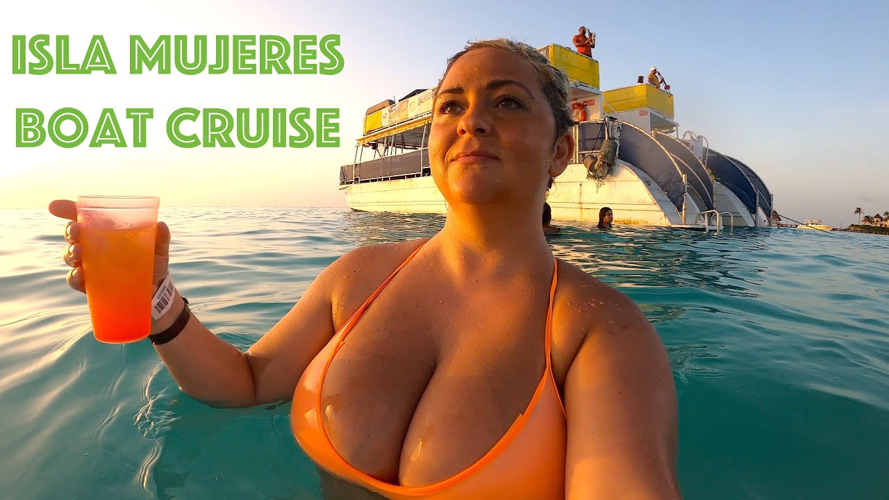 Isla Mujeres Boat Cruise from Cancun Contoy Adventures Playa Norte