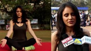 Shweta Khanduri At Yoga Gastric Festival 2017