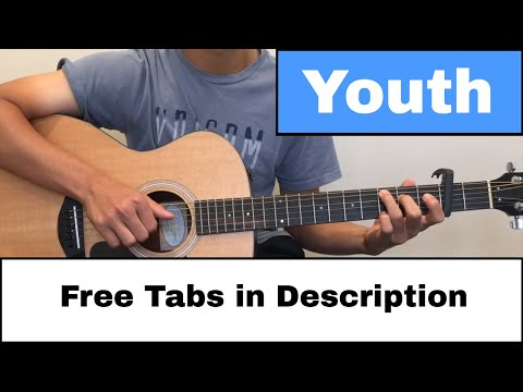 [FREE Tab] Youth (Shawn Mendes Ft. Khalid) - Fingerstyle Guitar Cover