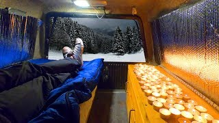 Truck Camping in Sub-Freezing Weaтher 2.0