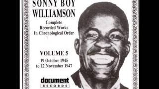 Watch Sonny Boy Williamson No Friends Blues video