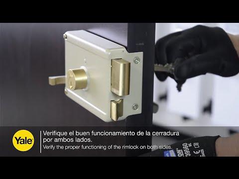 Video De Instalaci 243 N Cerradura Electromec 225 Nica Con Inte