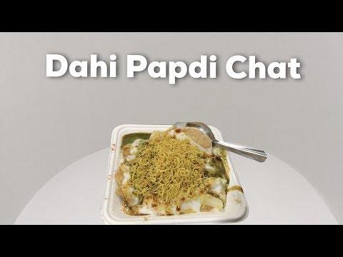 Dahi Papdi Chat At Gangotree In Chennai