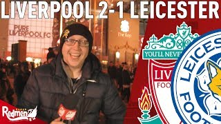Salah does it again!   Liverpool v Leicester 2-1   Chris' Match Reaction