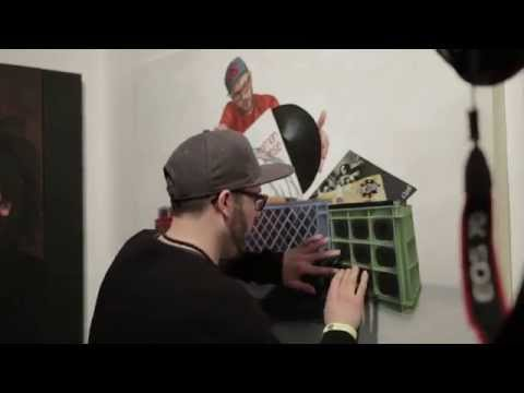 MPC Painting with DJ A-L as the beat conductor - Painted by Detour