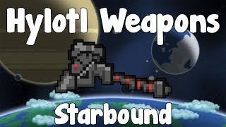 Impervium Weapons , Hylotl Tier 10 Racial Weaponry - Starbound - Gullofdoom - Guide/Tutorial - BETA