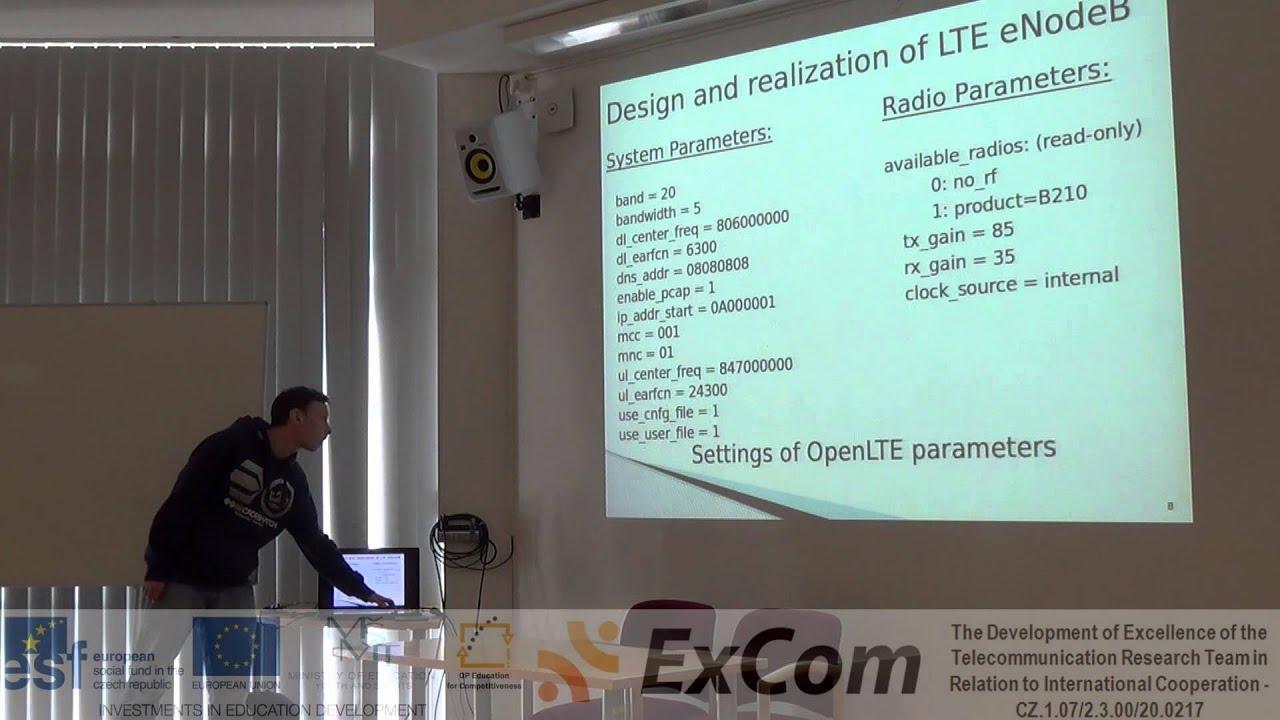 ExCom - USRP B210 as Platform for Building Elements of Mobile Network