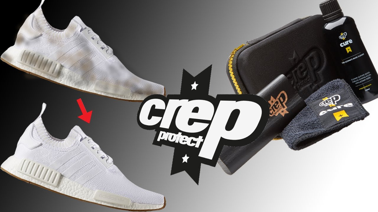e4b9a8e1eb7 Does Crep Protect Really Work On White NMDS !  - YouTube