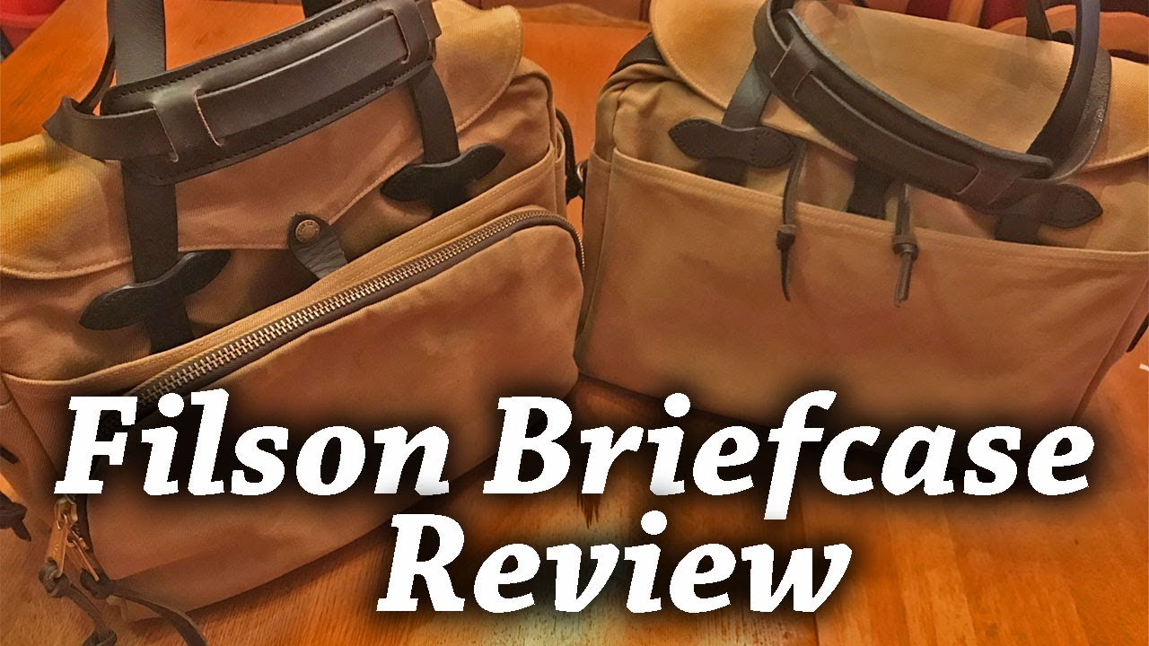 Filson Briefcase Review Padded Rugged Twill Computer Vs