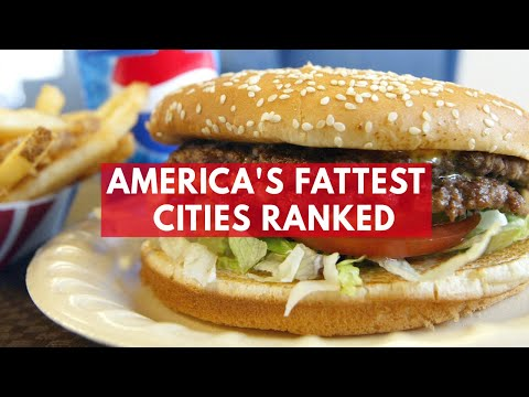 America's Ten Fattest Cities