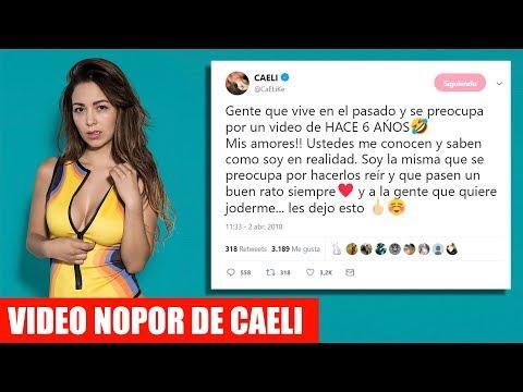 FILTRAN VIDEO NOPOR DE CAELI Y ELLA RESPONDE LO SIGUIENTE
