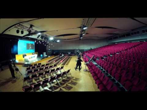 Le Palais des Congrès de Lorient en Time Lapse