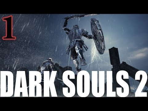 Dark Souls 2 New Game Plus (NG+) Walkthrough Part 1 (Livestream)