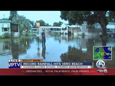 Vero Beach neighborhoods waterlogged by heavy rain