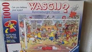 1000 Piece Jigsaw Puzzle Ravensburger Whasgij? Used Vgc