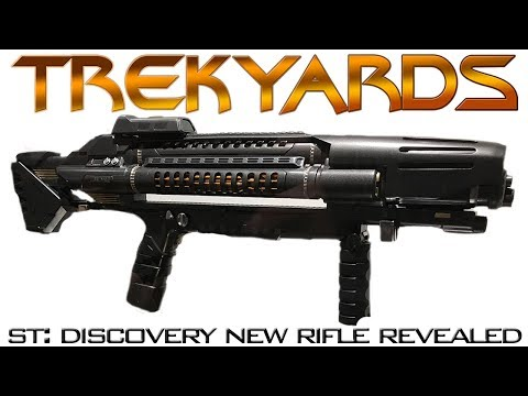 ST: Discovery Rifle Revealed! - Trekyards Analysis
