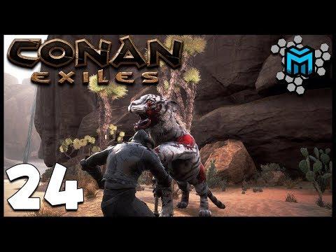 TAKING ON THE WHITE TIGER EP24 | Conan Exiles Multiplayer Gameplay | Conan Devolved Season 3