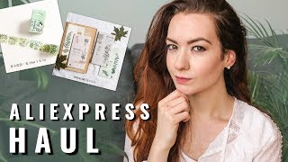 ALIEXPRESS STATIONERY HAUL ★ Stamps ★ Washi tape ★ Stickers || TristArtist