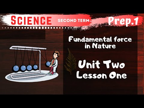 Science | Prep.1 | Unit 2 Lesson 1 | Universal force in Nature