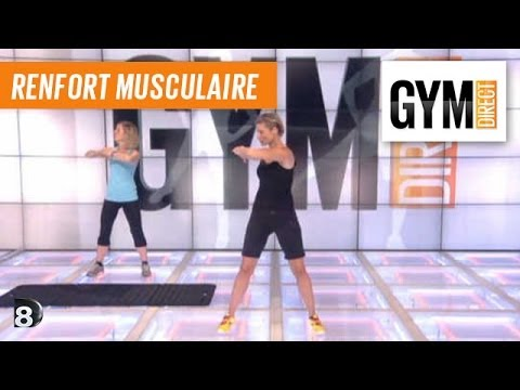 Cours gym - Rencement musculaire 61 : Taille, dos