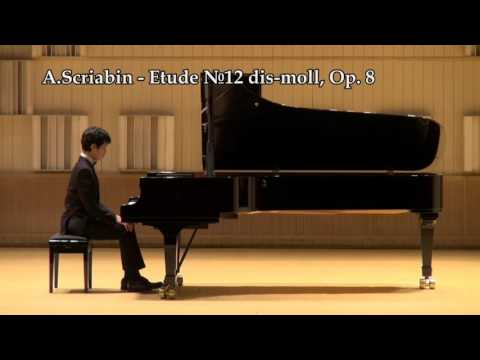 9th International Tchaikovski Competition for Young Musicians - Piano (1st tour, part 4)