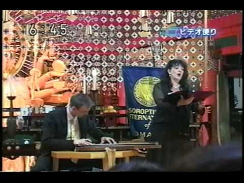 Zither + Soprano Duo Allure on NHK TV Japan