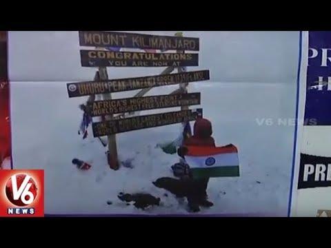 7-year-old Hyderabadi Boy Samanyu Scales Mount Kilimanjaro | V6 News