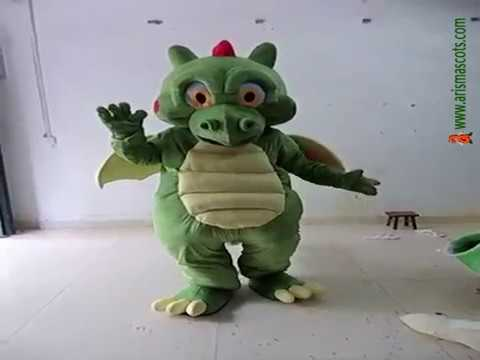 Adult Suit Dinosaur Mascot Costume Animal Mascot Fancy Dress & Adult Suit Dinosaur Mascot Costume Animal Mascot Fancy Dress - YouTube