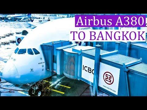 TRIPREPORT   THAI AIRWAYS   Airbus A380   Frankfurt - Bangkok   ECONOMY