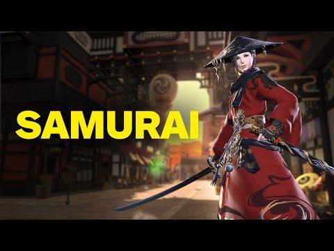 Final Fantasy 14: Stormblood - 2 Minutes of Samurai Gameplay