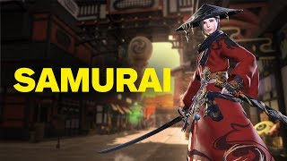Final Fantasy 14: Stormblood - 2 Minutes of Samurai Gameplay