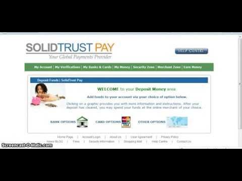 Платежные системы-SolidTrust Pay-завод денег