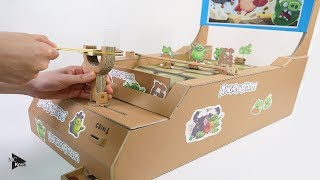 How to Make Angry Birds Game - Amazing Cardboard DIY