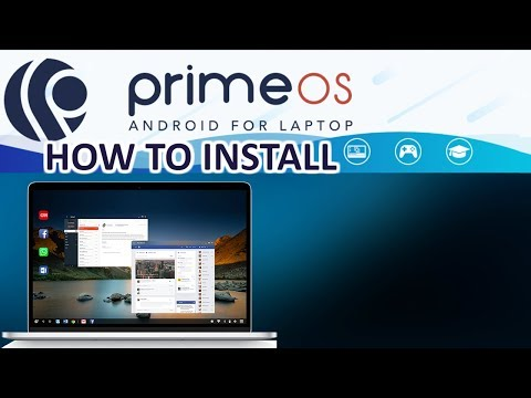 PrimeOS Android for PC 32bit and 64bit - How to Install