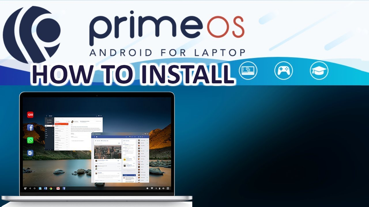 PrimeOS Android for PC 9bit and 9bit - How to Install Tutorial 9