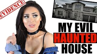 MY HAUNTED HOUSE STORYTIME (PART 1) WITH TERRIFYING EVIDENCE + PHOTOS!!!