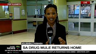 Cocaine mule on her way to PE