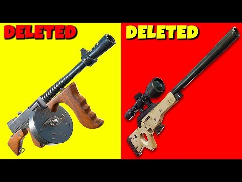 Epic Games just DELETED the Best Guns in Fortnite...   Chaos