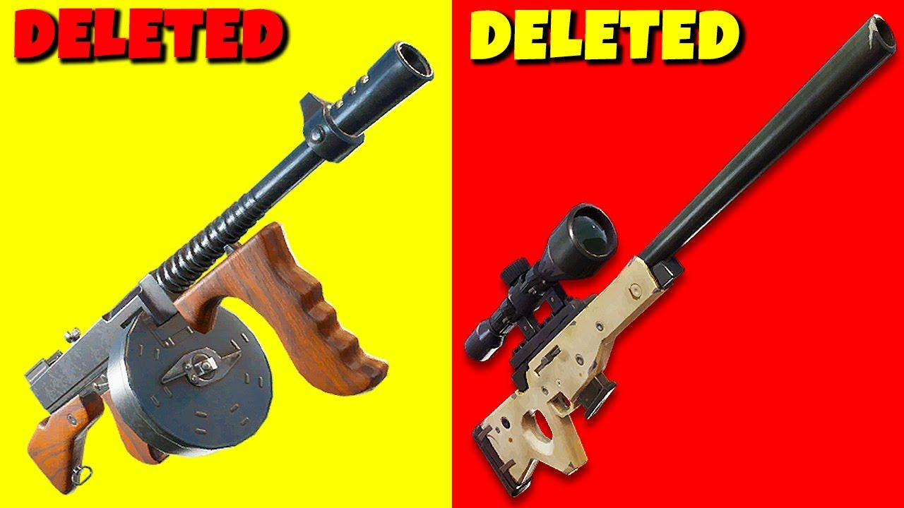 Epic Games just DELETED the Best Guns in Fortnite ...