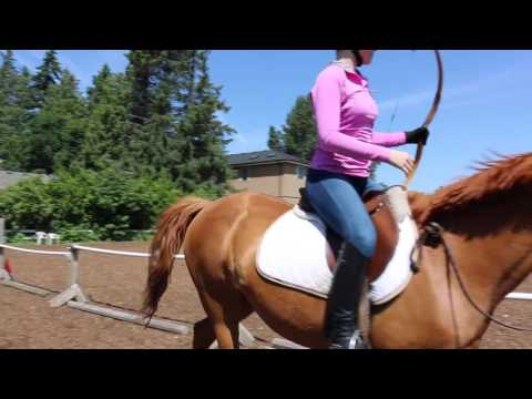 Alisha Newton Mounted Archery