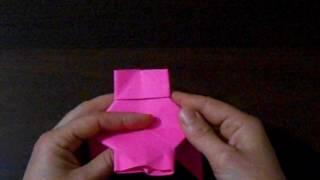 Сказка с помощью бумаги оригами (на украинском)