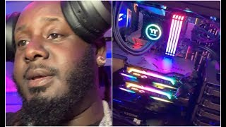 T Pain Builds Super Computer Made Of Glass To Make Futuristic Beats