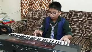 """""""Papa kehte hain"""" on keyboard by nine years old Samrat Sancheti from Nagpur"""